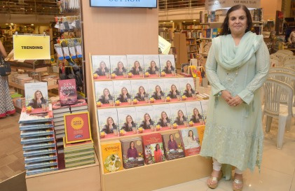 1. Asha Khatau during the Book Launch The Best of Epicure's NOUVELLE INDIAN CUISINE by ASha Khatau KPP_5081