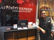 Anand Singh, Franchisee owner of Affinity Express