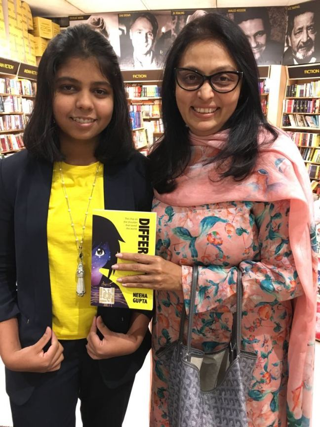 Patron of sport Vita Dani with Neeha Gupta at the launch of Different