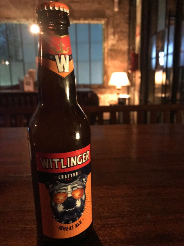 Witlinger beer with New Mascot (i)