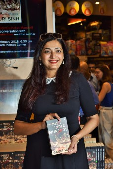 Author Gauri Sinh at Crossword Bookstores