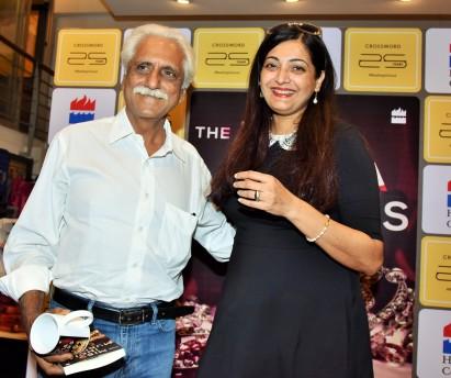 Ayaz Menon, author Gauri Sinh